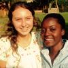 Annie Cameron and Jane Nakanwagi