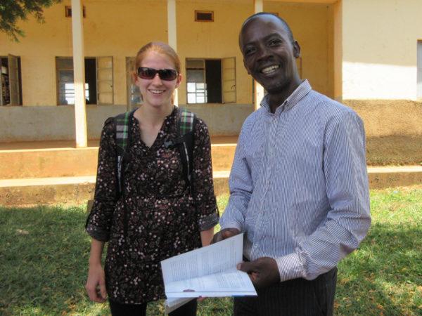 Beka Bushby meets Save the Mothers graduate Ivan Tibenkana