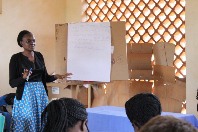 Dr. Flavia teaches